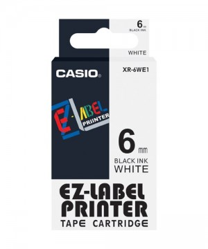 Casio XR-6WE1 Label Printer Tape