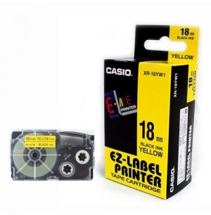 Casio Tape - 18mm XR-18YW1