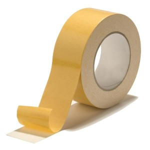 "Double Sided Cloth Tape 4"" X 25mtrs (1pcs)"