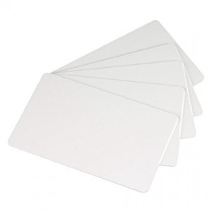 Zebra Plain PVC Cards