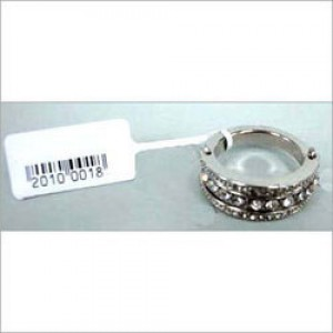 Tag 92mm x 15mm Jewellery Partial Guming Tag