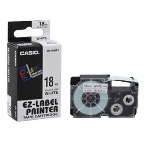Casio Tape- 18mm XR18HMWE Cable Flexible Tape